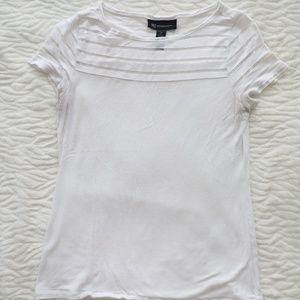 INC Sheer Stripe T-shirt